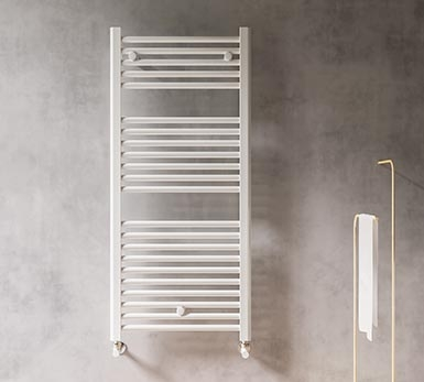 Timeless classics. Simple and functional round tube towel warmers.